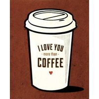 Sanctuary Spring Coffee Love Greeting Card