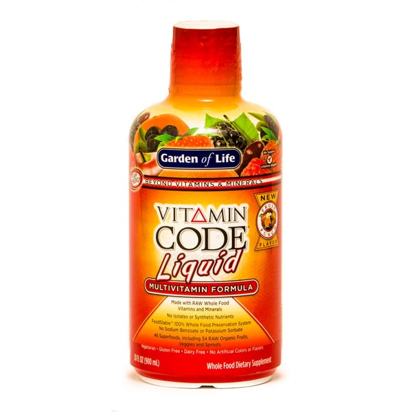Garden of Life Vitamin Code Liquid Multivitamin Fruit Punch