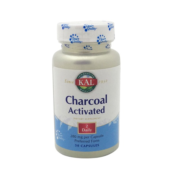 Kal Actvated Charcoal 260 Mg