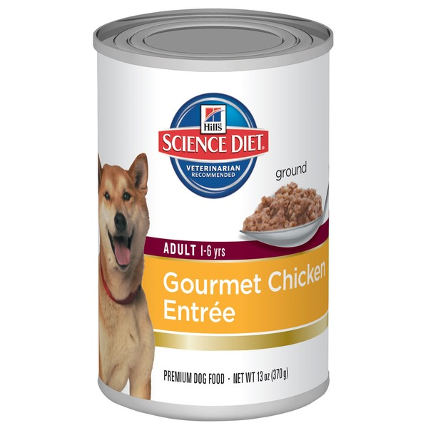 Hill's Science Diet Chicken & Barley Entree Adult 1-6 Canned Dog Food