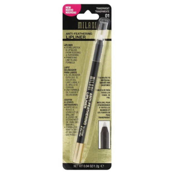 Milani Anti-Feathering Lipliner - Transparent 01