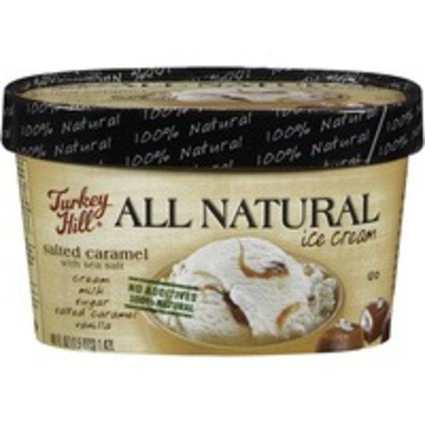Turkey Hill All Natural Salted Caramel with Sea Salt Ice Cream