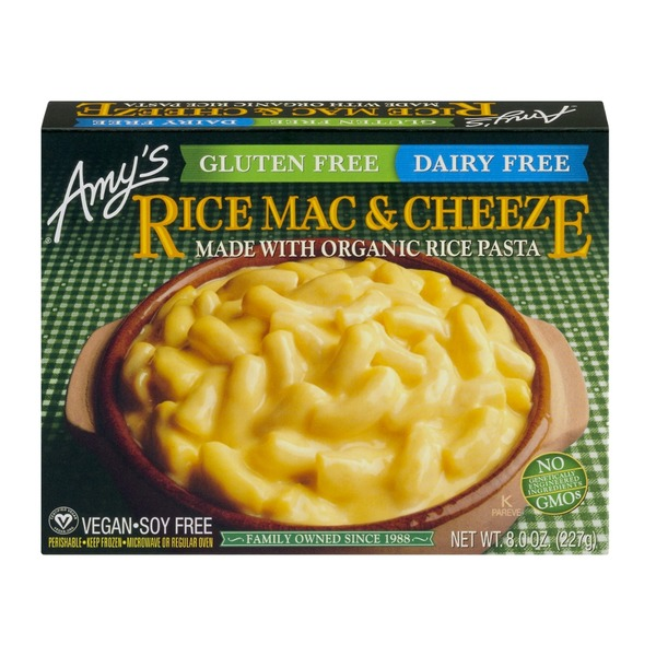 Amy's Gluten and Dairy Free Rice Mac & Cheese