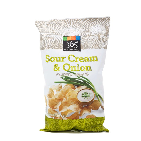 365 Sour Cream & Onion Potato Chips