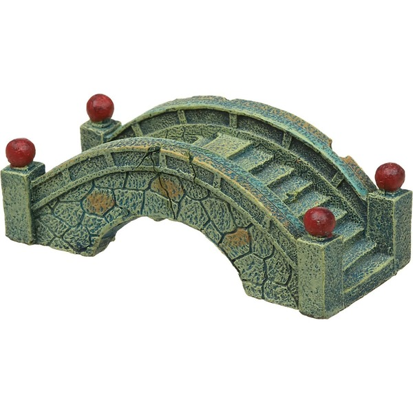 Blue Ribbon Pet Products Blue Stone Bridge Aquarium Ornament