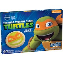 Pillsbury Ready to Bake! Teenage Mutant Ninja Turtles Shape Sugar Cookies