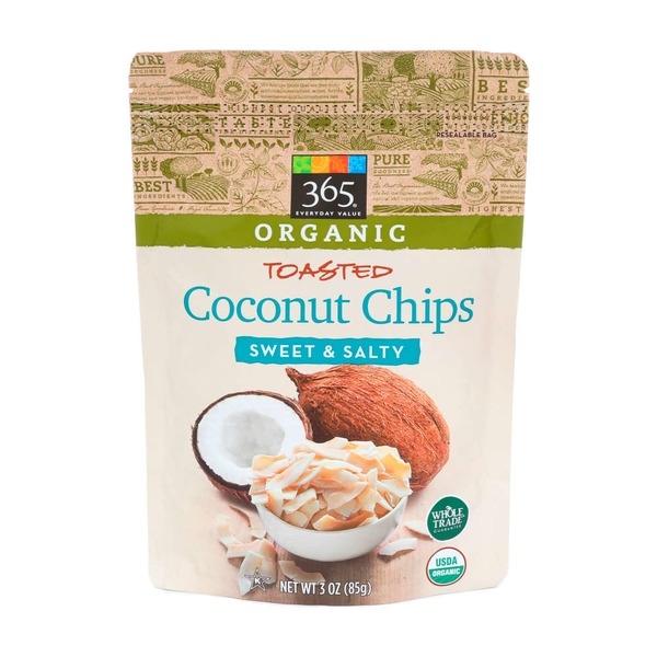 365 Original Sweet & Tasty Toasted Coconut Chips