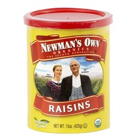 Newman's Own 15oz Raisins (canister)