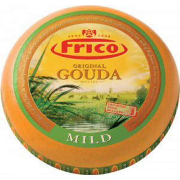 Frico Yellow Wax Gouda