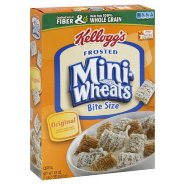 Kellogg's Frosted Mini-Wheats Original Cereal
