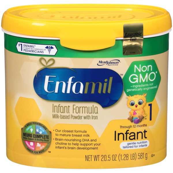 Enfamil Infant Milk-Based Powder with Iron Formula