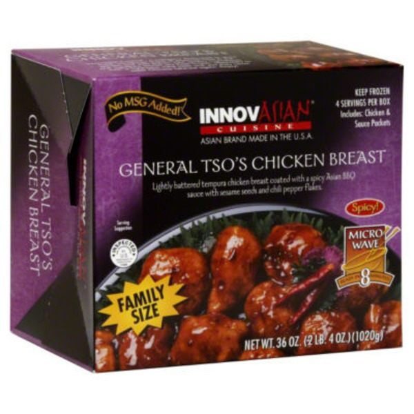 InnovAsian Cuisine Cuisine Family Size General Tso's Chicken