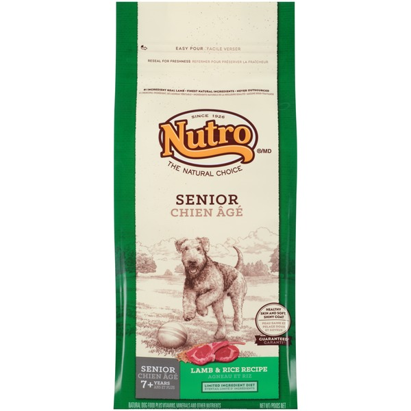 Nutro Senior Lamb & Rice Recipe Dog Food