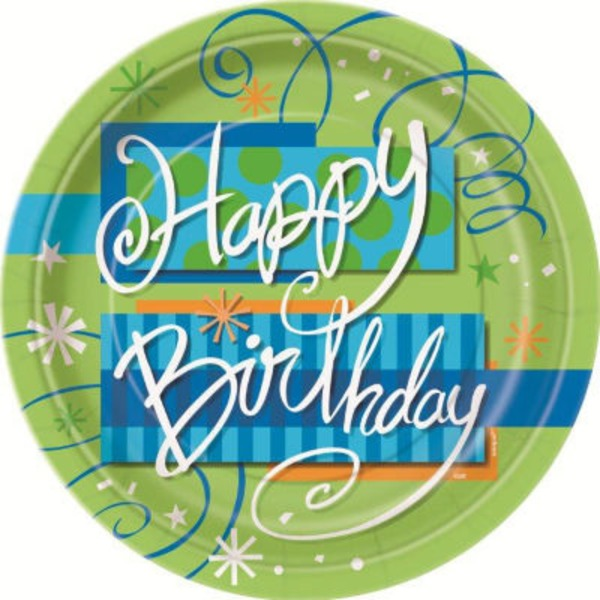Unique Happy Birthday 7 Inch Plate