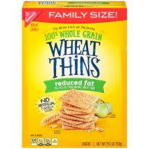 Wheat Thins Snack Crackers, Reduced Fat, 14.5 Oz