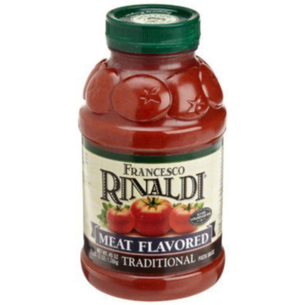 Rinaldi Traditional Pasta Sauce Meat Flavored