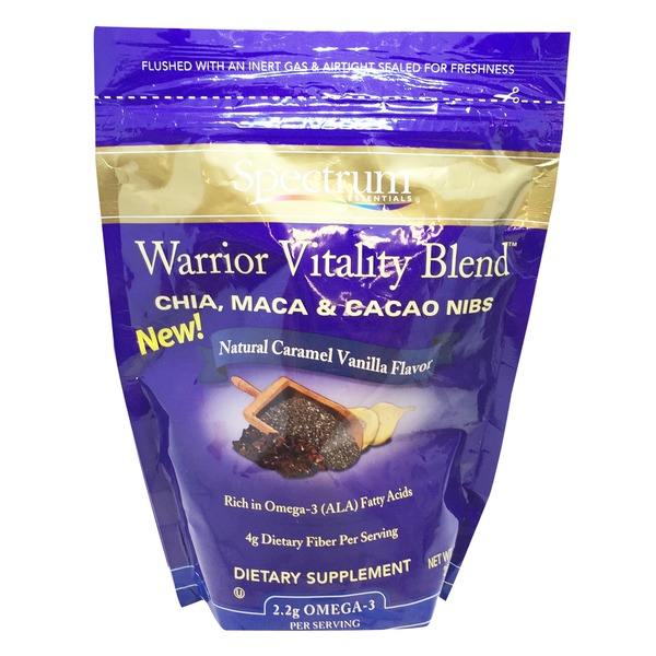 Spectrum Essentials Natural Caramel Vanilla Flavor Warrior Vitality Blend