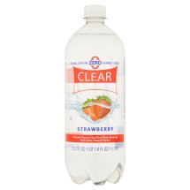 Clear American Strawberry Flavored Sparkling Water, 33.8 fl oz