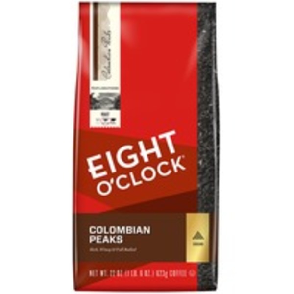 Eight O'Clock Coffee Colombian Peaks Ground Coffee