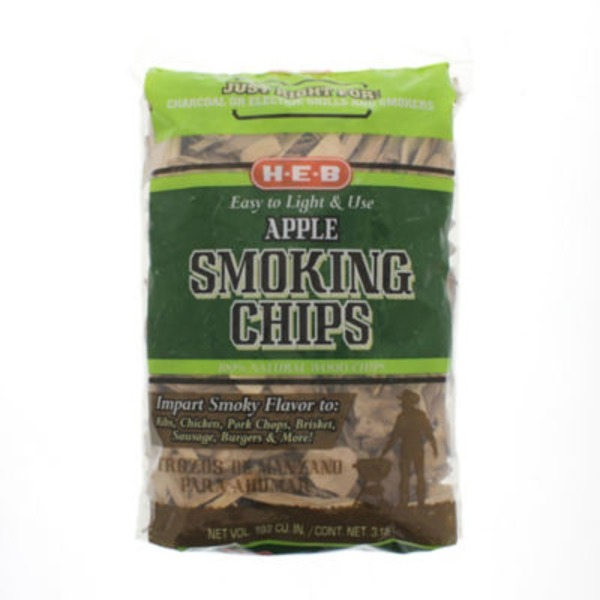 H-E-B Apple Smoking Chips