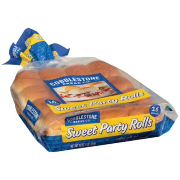 Cobblestone Mill Sweet Party Rolls