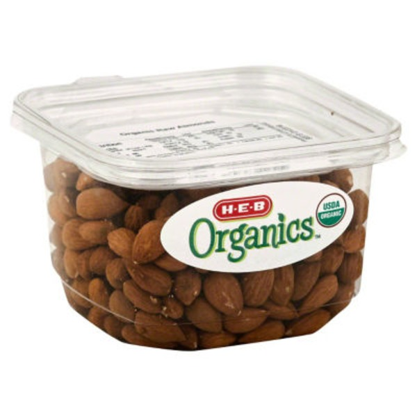 H-E-B Organics Raw Almonds