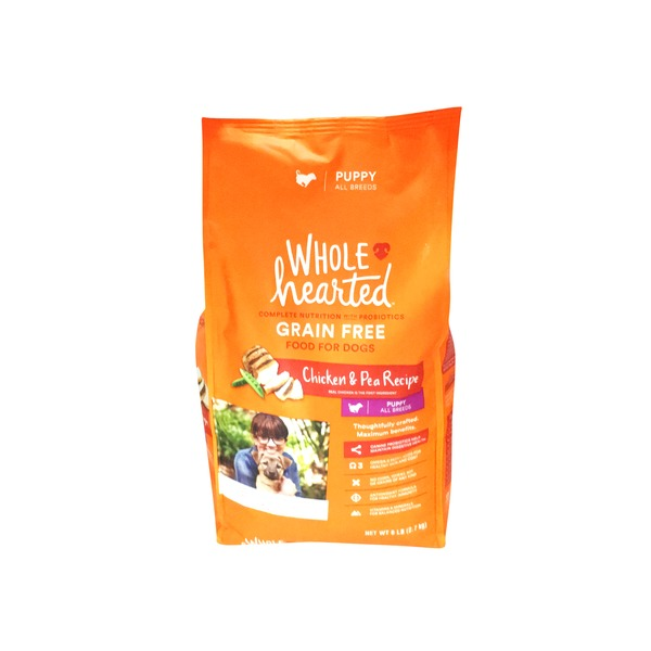 Whole Hearted Grain Free Chicken & Pea Puppy Food
