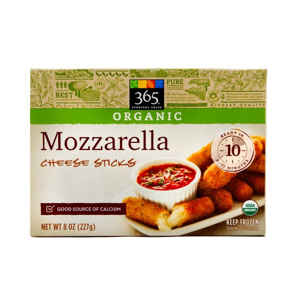 365 Organic Mozzarella Cheese Sticks