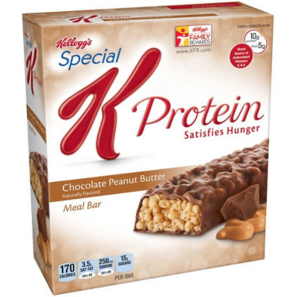 Kellogg's Special K Protein Chocolate Peanut Butter Meal Bars