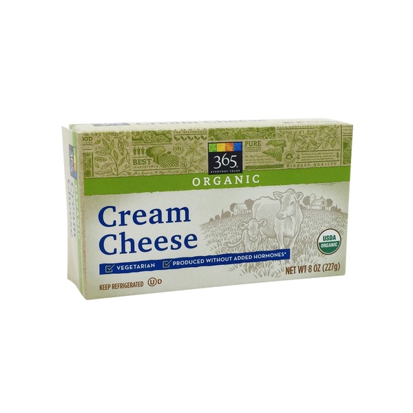365 Organic Cream Cheese Bar