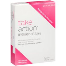Take Action Levonorgestrel Emergency Contraceptive, 1.5 mg
