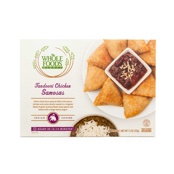 Whole Foods Market Tandoori Chicken Samosas