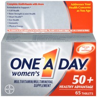 One A Day Women's 50+ Healthy Advantage Tablets Multivitamin/Multimineral Supplement