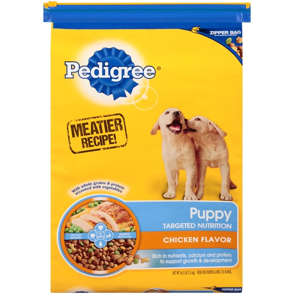 Pedigree Puppy Targeted Nutrition Chicken Flavor Dog Food