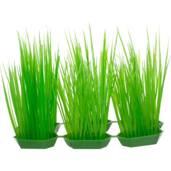 Petco Green Foreground Plastic Aquarium Plants