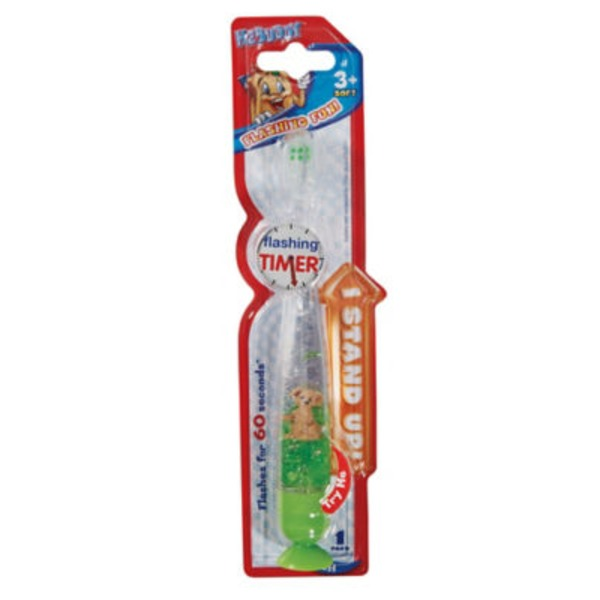 H-E-Buddy Liquid Flashing Timer Toothbrush
