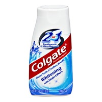 Colgate Whitening with Stain Lifters 2-in-1 Liquid Gel Toothpaste & Mouthwash