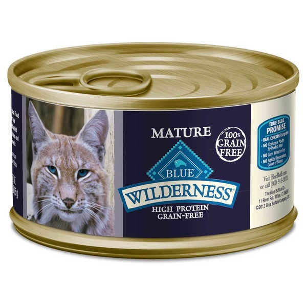Blue Buffalo High Protein Grain-Free Canned Cat Food