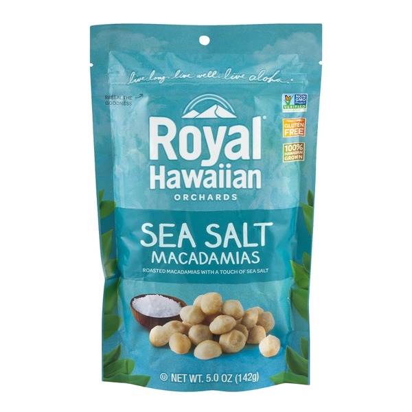 Royal Hawaiian Orchards Sea Salt Macadamias