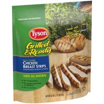 Tyson Grilled & Ready Chicken Breast Strips, 22 oz