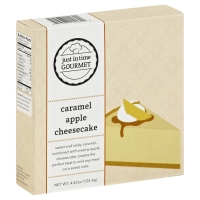 Just In Time Gourmet Caramel Apple Cheesecake