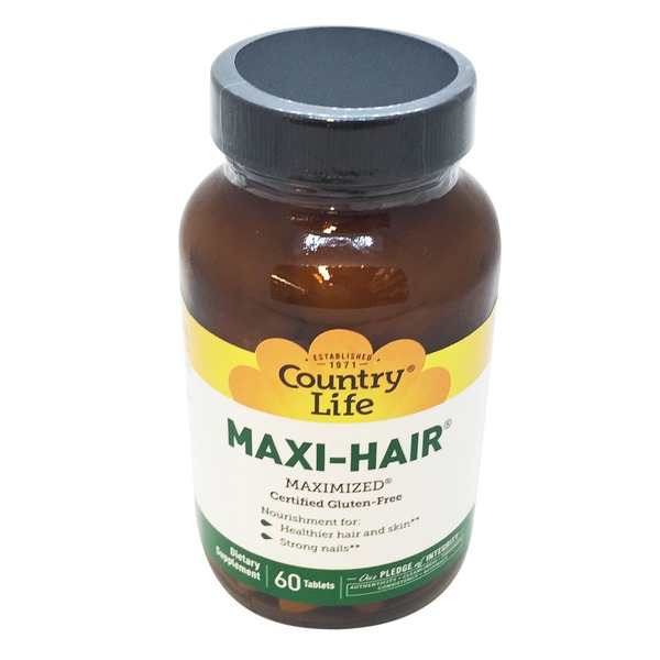 Country Life Maxi Hair Time Release