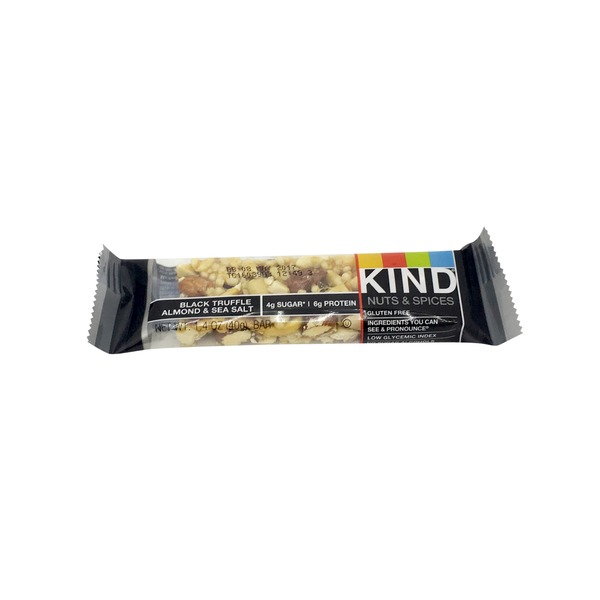 KIND Black Truffle Almond Sea Salt Nut Bar