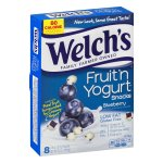 Welch's Fruit 'n Yogurt Snacks, Blueberry, 0.8 Oz, 8 Ct