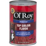 Ol' Roy Meaty Loaf Top Sirloin Flavor Wet Dog Food, 22 oz