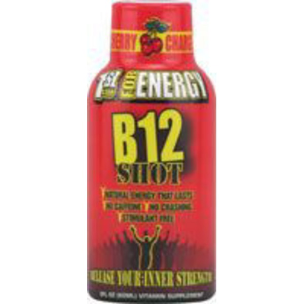 1st Step Cherry B12 Shot For Energy