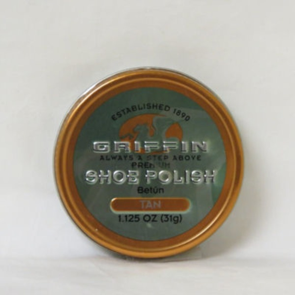 Griffin Shoe Polish Paste Wax Tan