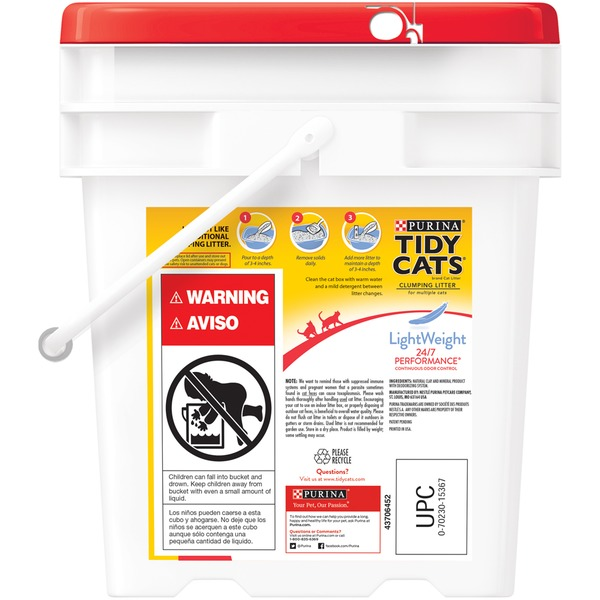 Tidy Cats Lightweight 24/7 Performance Cat Litter