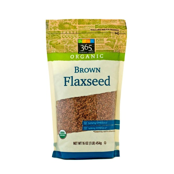 365 Organic Brown Flaxseed
