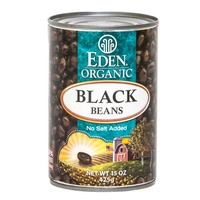 Eden Organic Black Beans No Salt Added